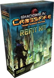Shadowrun Crossfire Deck Building Card Game: Prime Runner Refit Kit